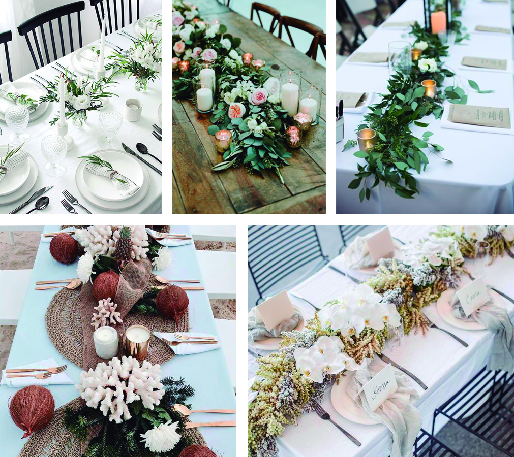 Centro de mesas para boda