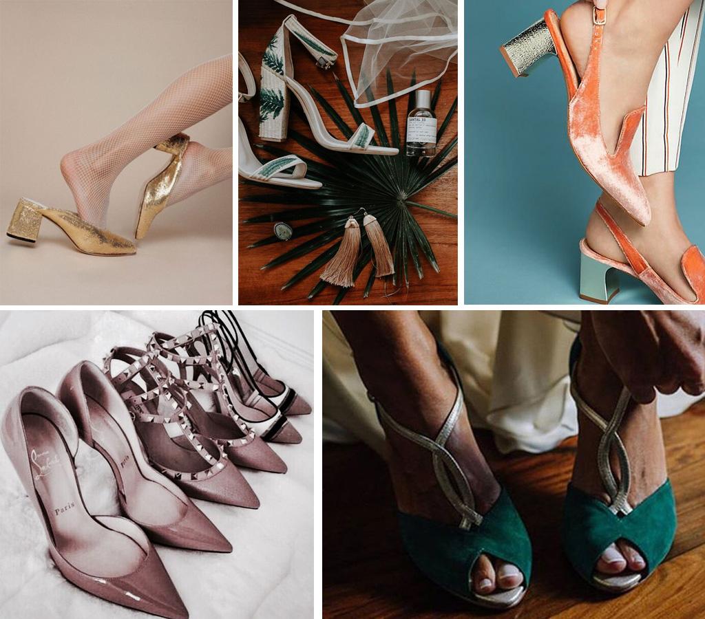 Zapatos de novia diferente