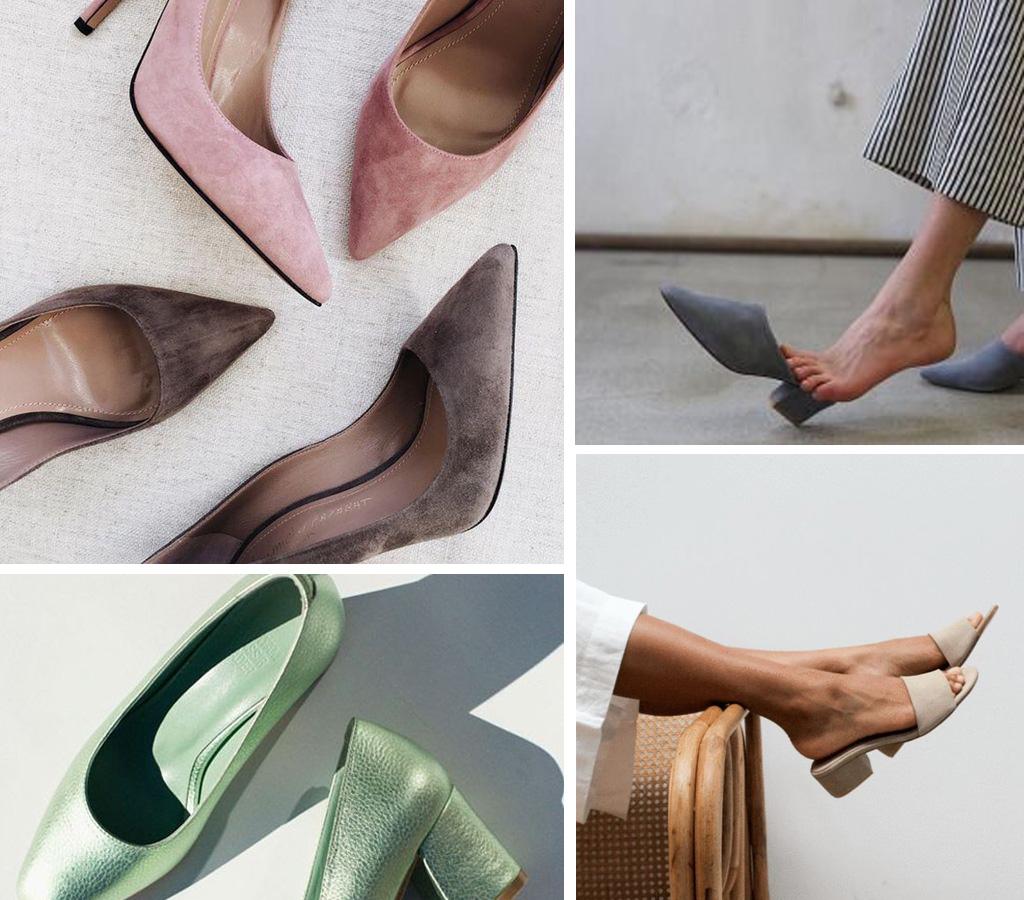 Zapatos para novia de colores