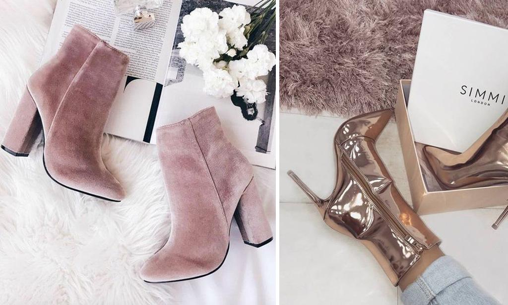 botas de colores para novias