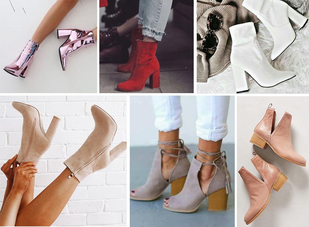 botas para novias de colores