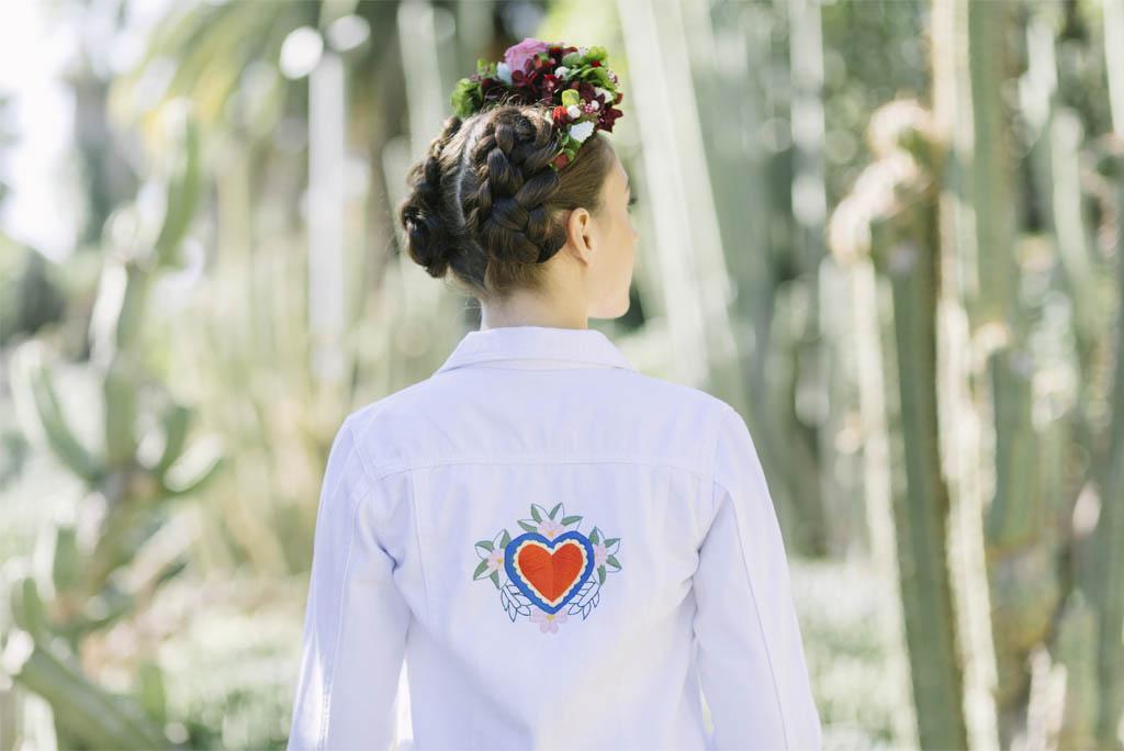 chaqueta personalizada para novias