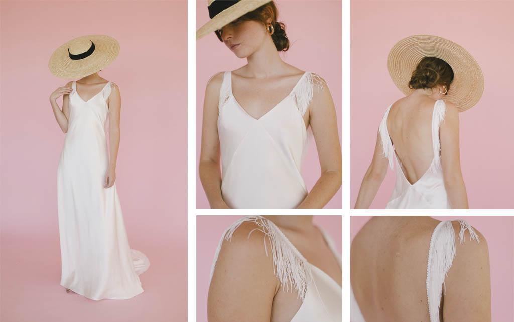Vestidos de novia sencillos y románticos