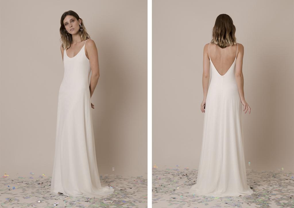 Vestidos de novia simples y bonitos