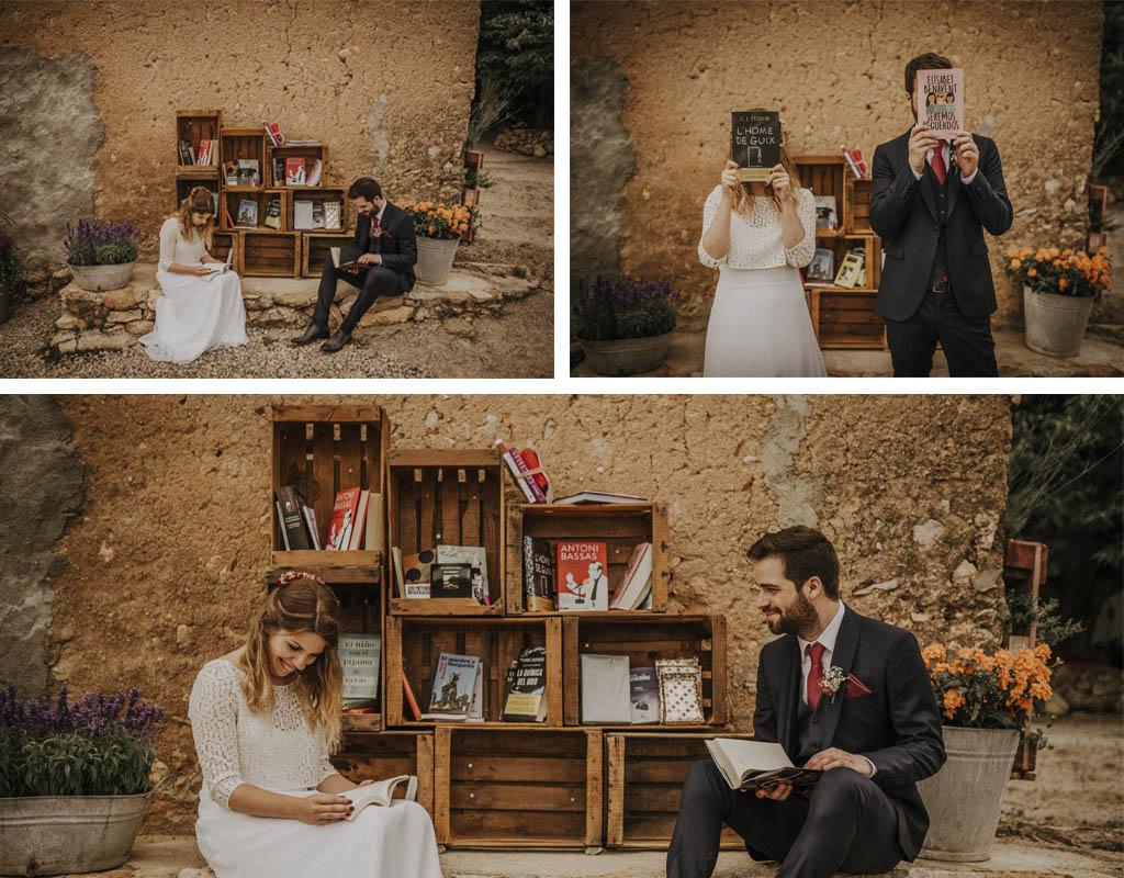 bodas con libros