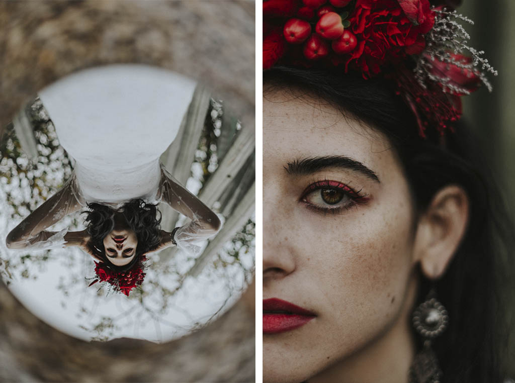 coronas para novias