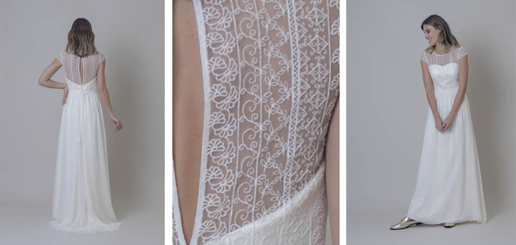 tranparencia en espalda para vestidos de novia