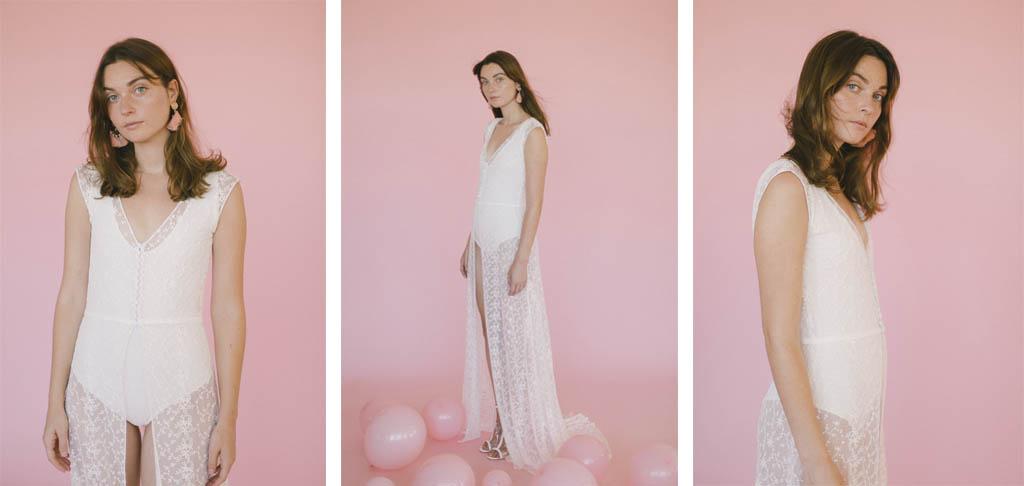 vestido de novia de bordados