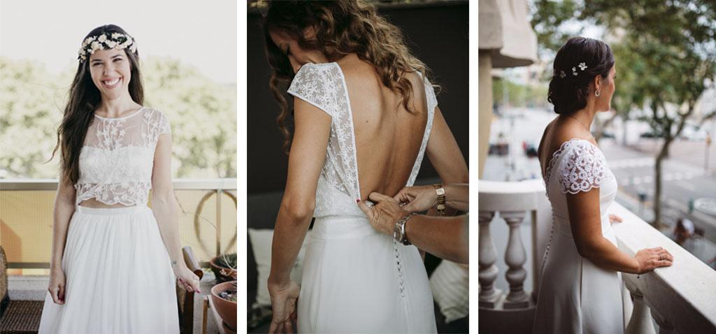 Vestidos personalizados para novias