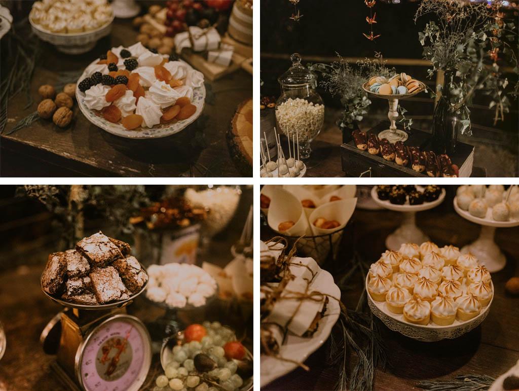 dulces para boda