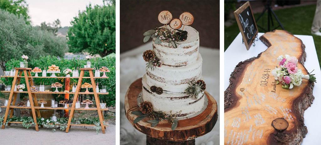 inspiración boda rustica