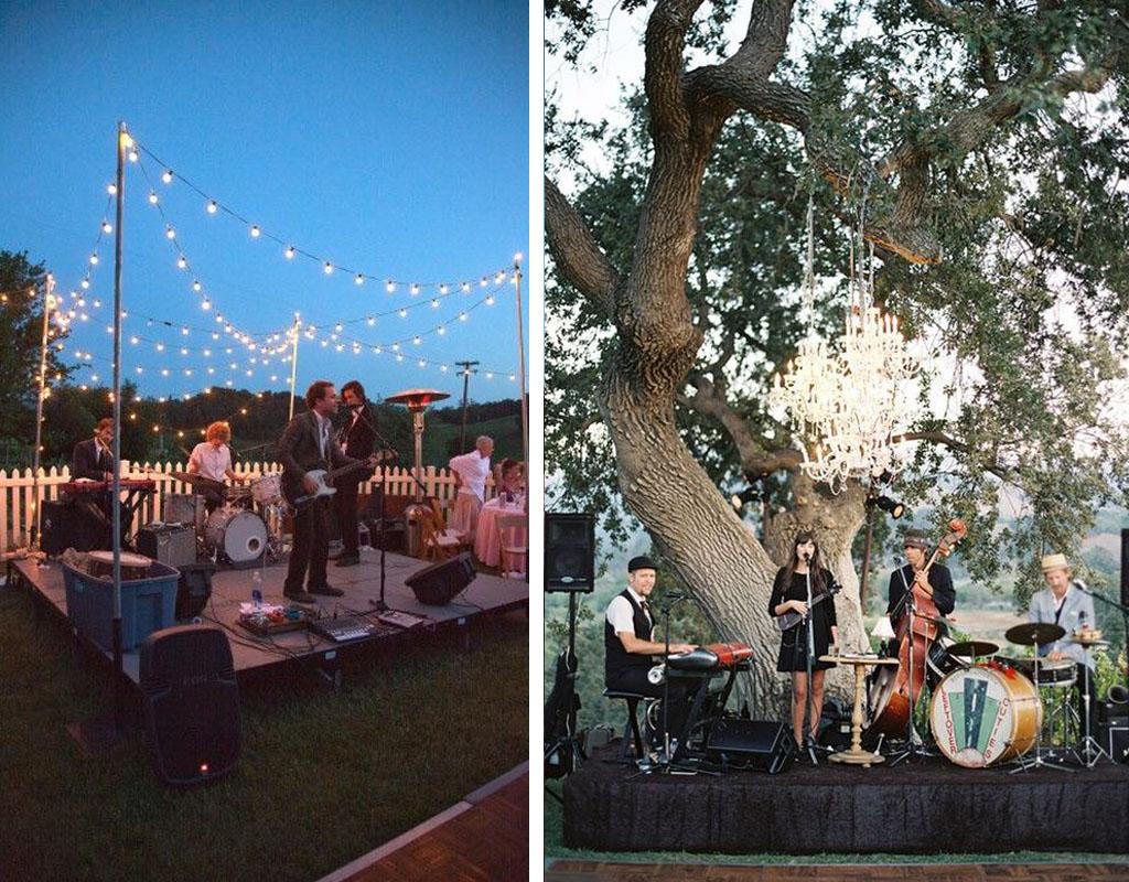 musica en directo para boda festivalera