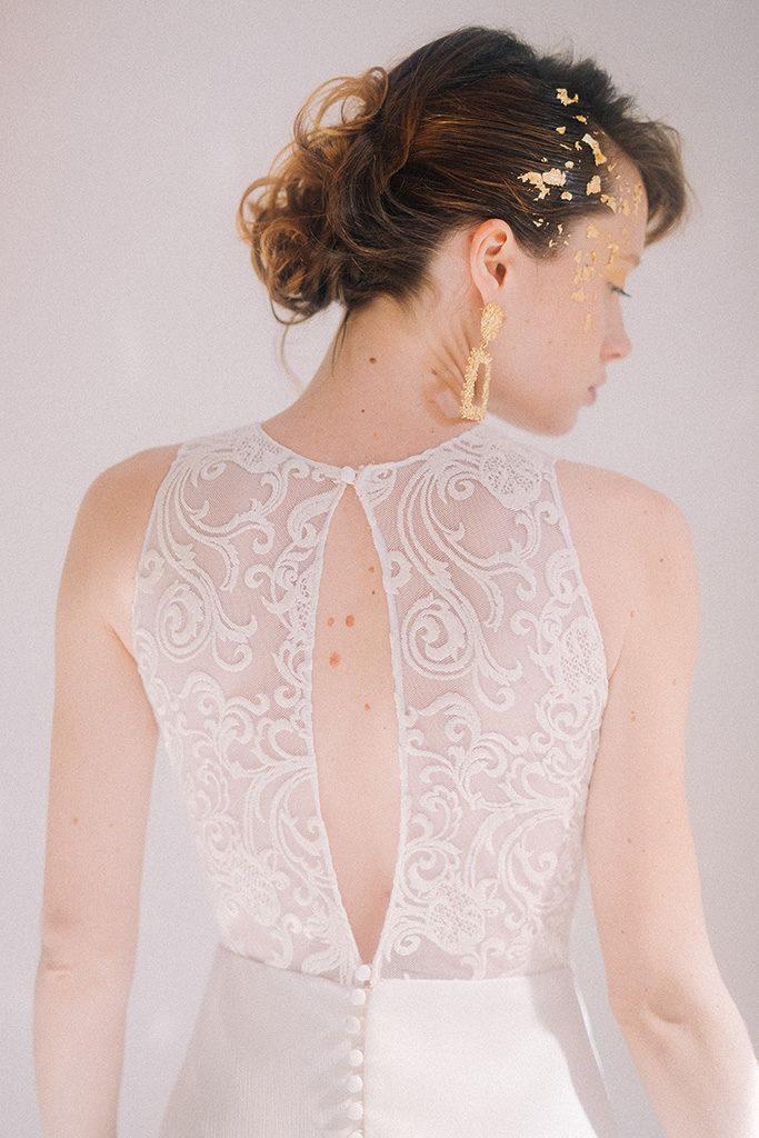 Vestido Alegoria detalle