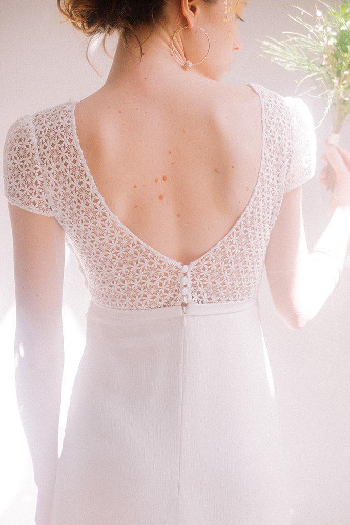 Vestido Lucrecia detalle 2