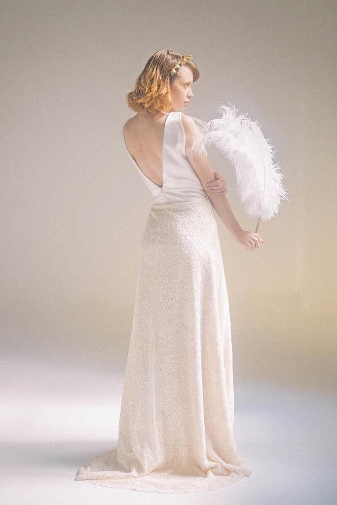Vestido susana espalda