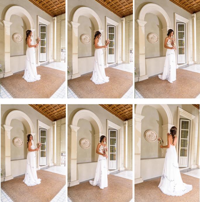vestido de novia minimalista