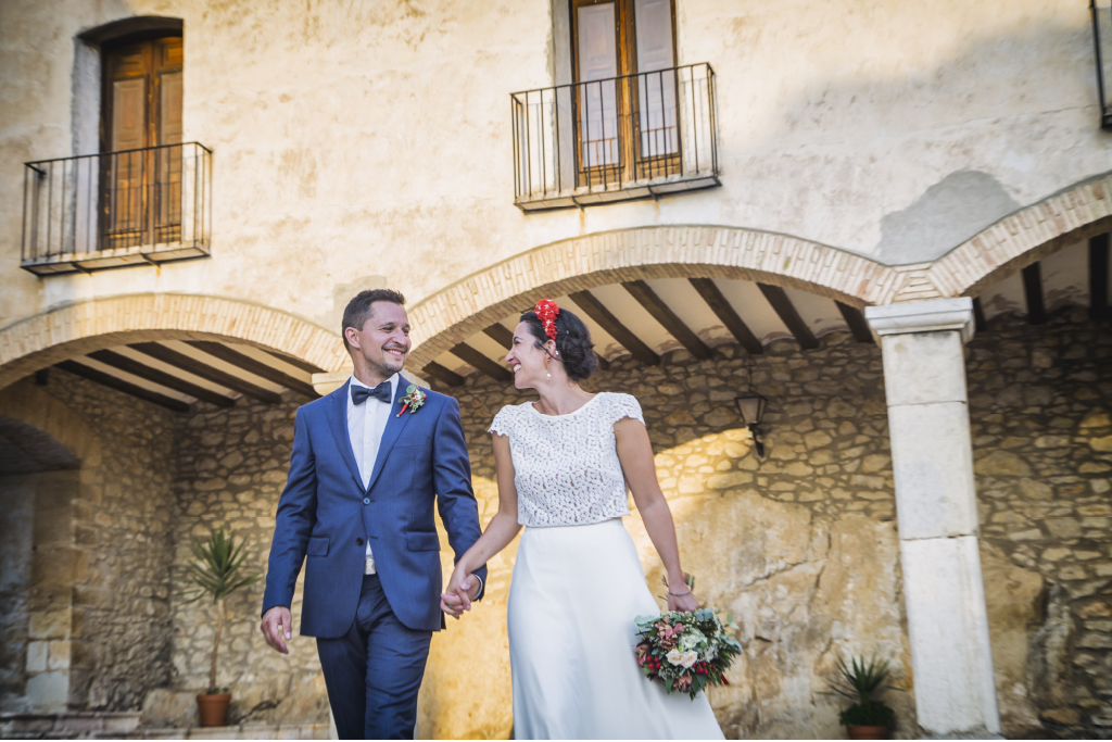vestido sencillo para novia