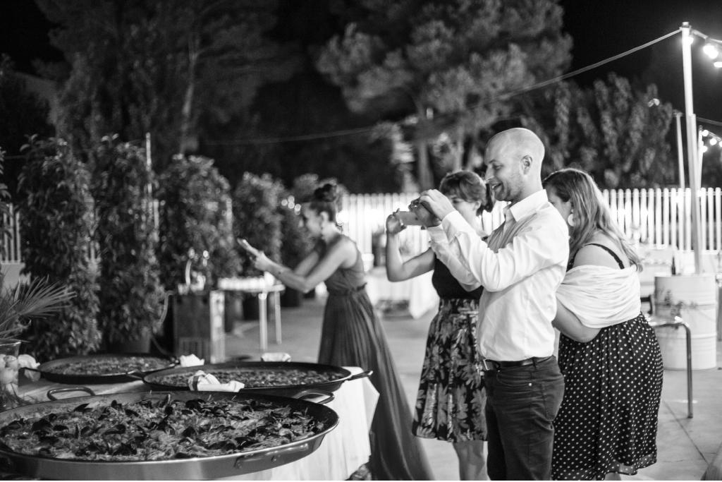 paella en tu boda