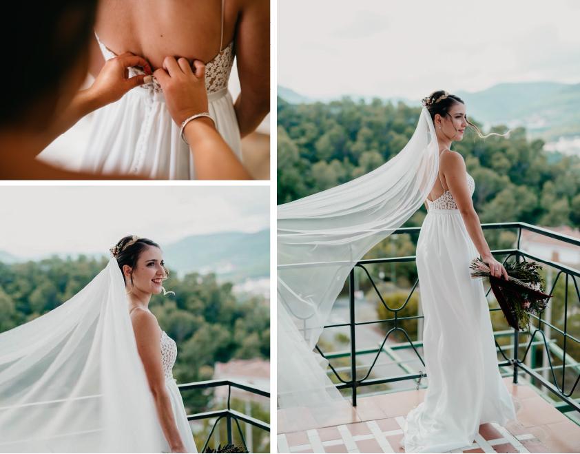 vestido de novia sencillo